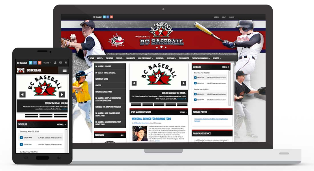 Teampages Website Design